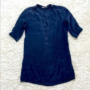 Tucker 100% Silk Short Sleeve Tunic